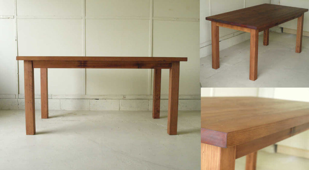 ダイニングテーブル001(組み立て式)150×72×80¥38,800