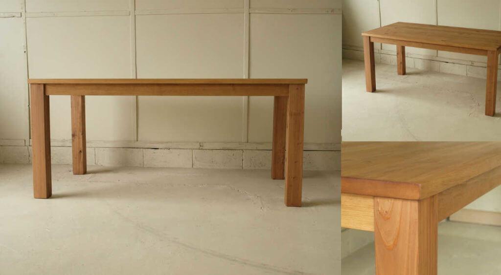 ダイニングテーブル013(組み立て式)160×72×80¥44,800