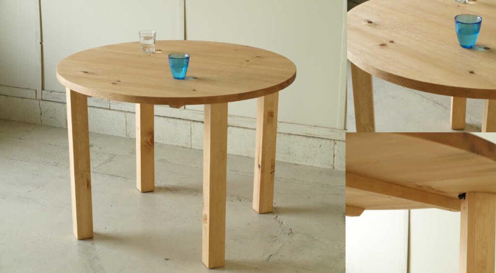 ダイニングテーブル005(組立式)100×72×100¥45,800