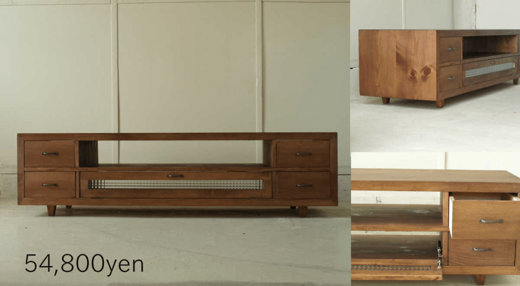 無垢家具TVボード033W150M