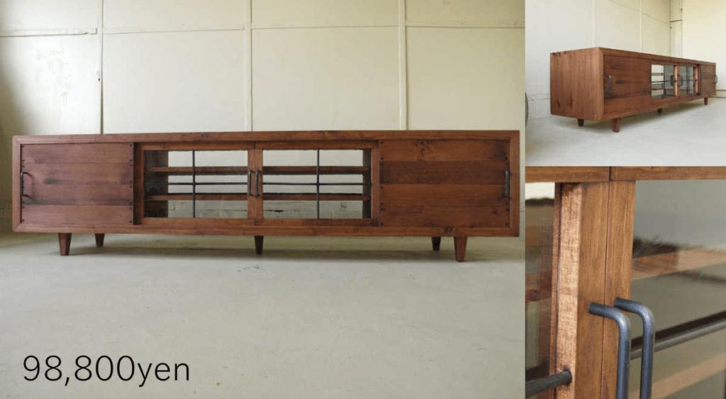 無垢家具TVボード043