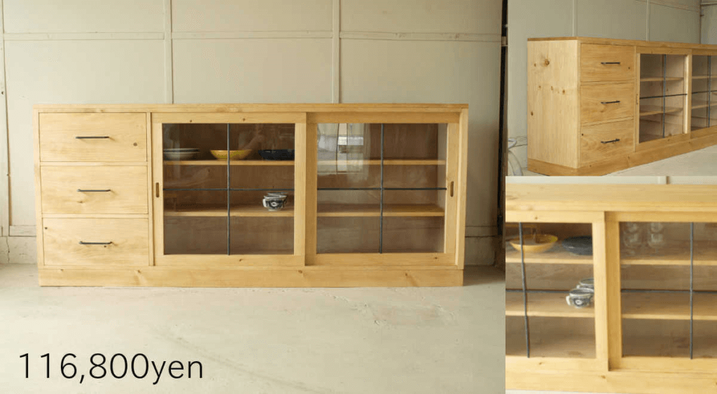 無垢家具サイドボード001