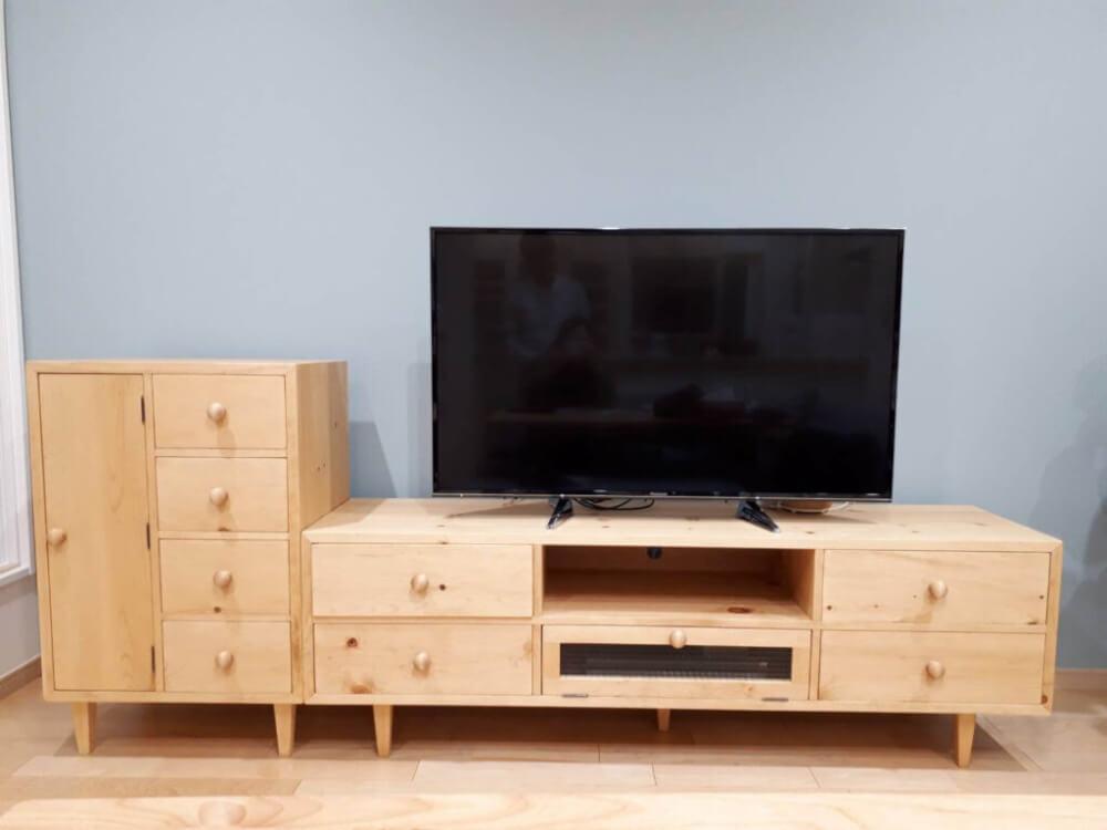 テレビボード棚オーダー家具