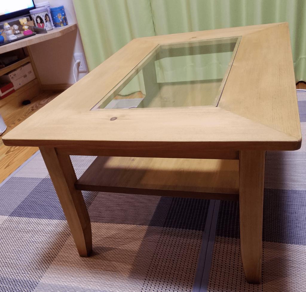 リビングテーブル 無垢家具