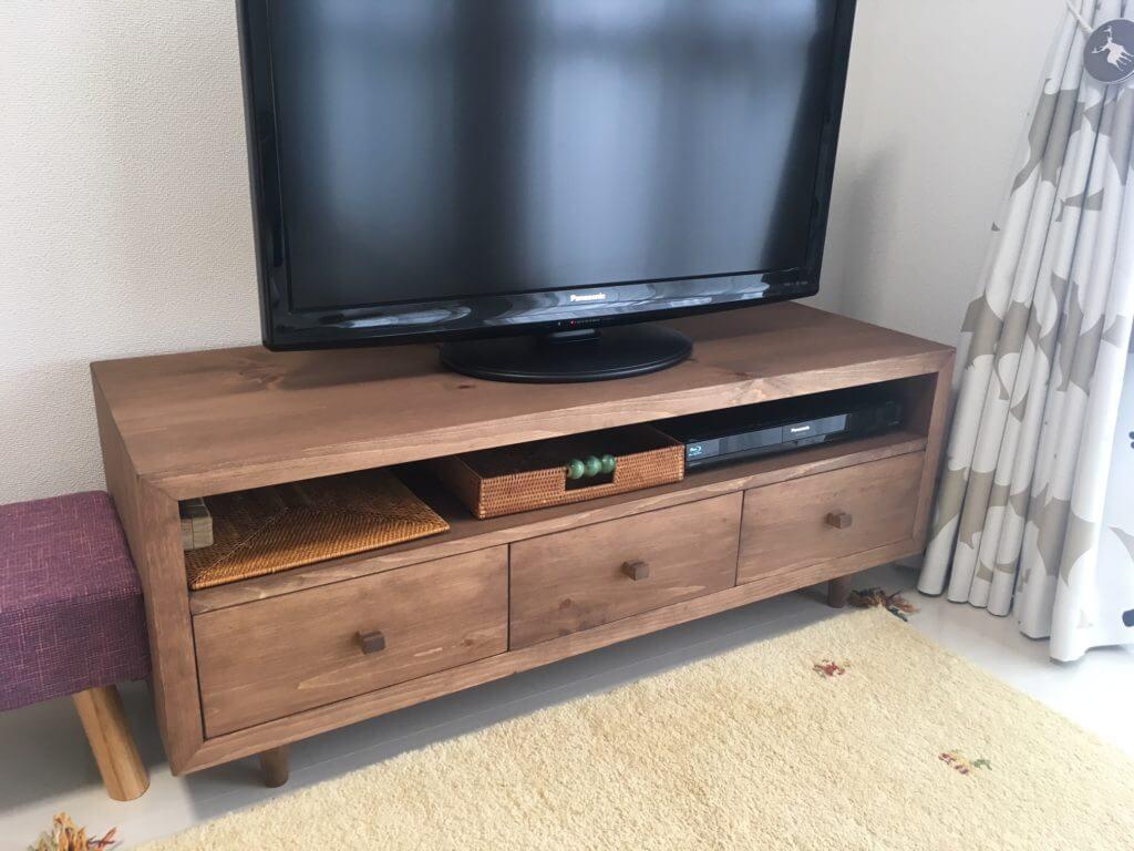 テレビボード無垢家具