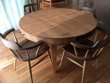 オーダー家具丸テーブル