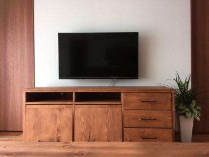 オーダー家具ハイテレビボード