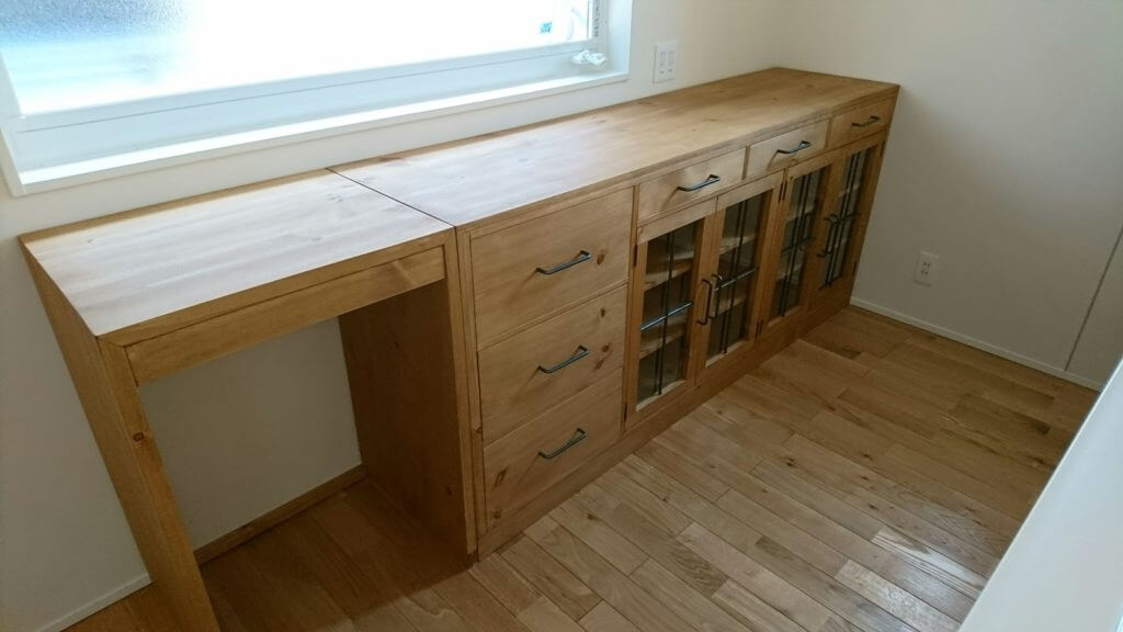 家具設置写真 サイドボード