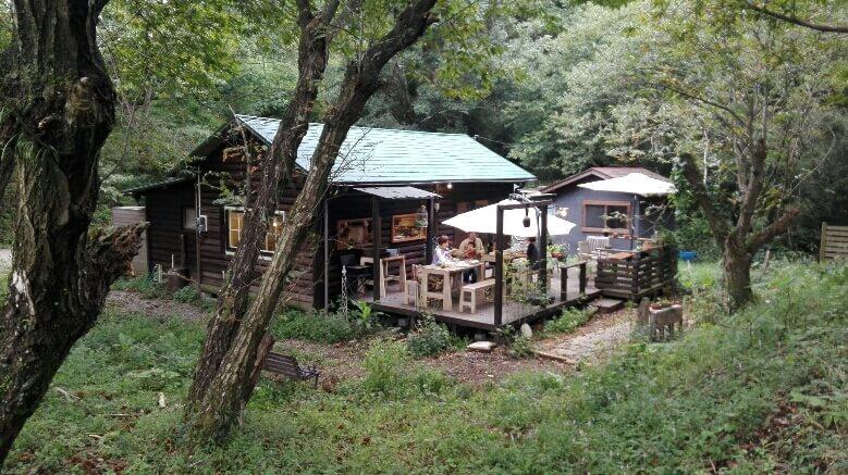 綾町のカフェ