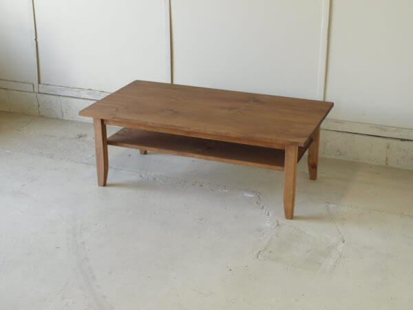 無垢リビングテーブルLT002