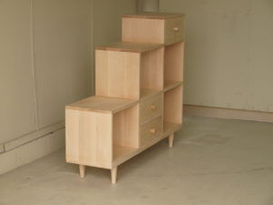 オーダー家具階段棚