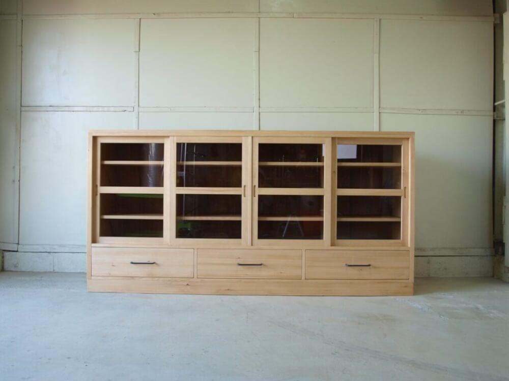 棚 箱物 食器棚 キッチンボード
