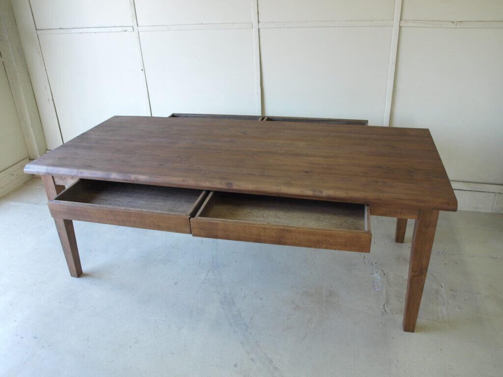 ダイニングテーブル モミの木 エボニー