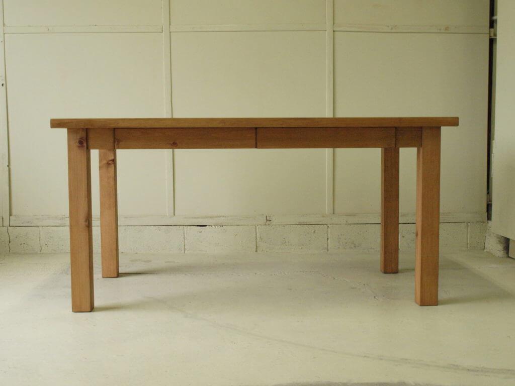 ダイニングテーブル002引出付