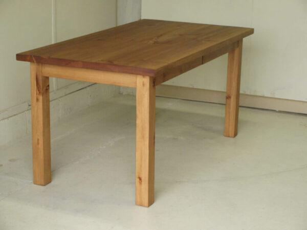 無垢ダイニングテーブル002引出付