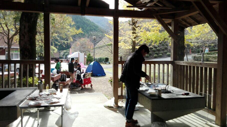 須美江でバーベキュー