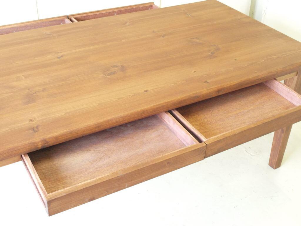 無垢ダイニングテーブル024