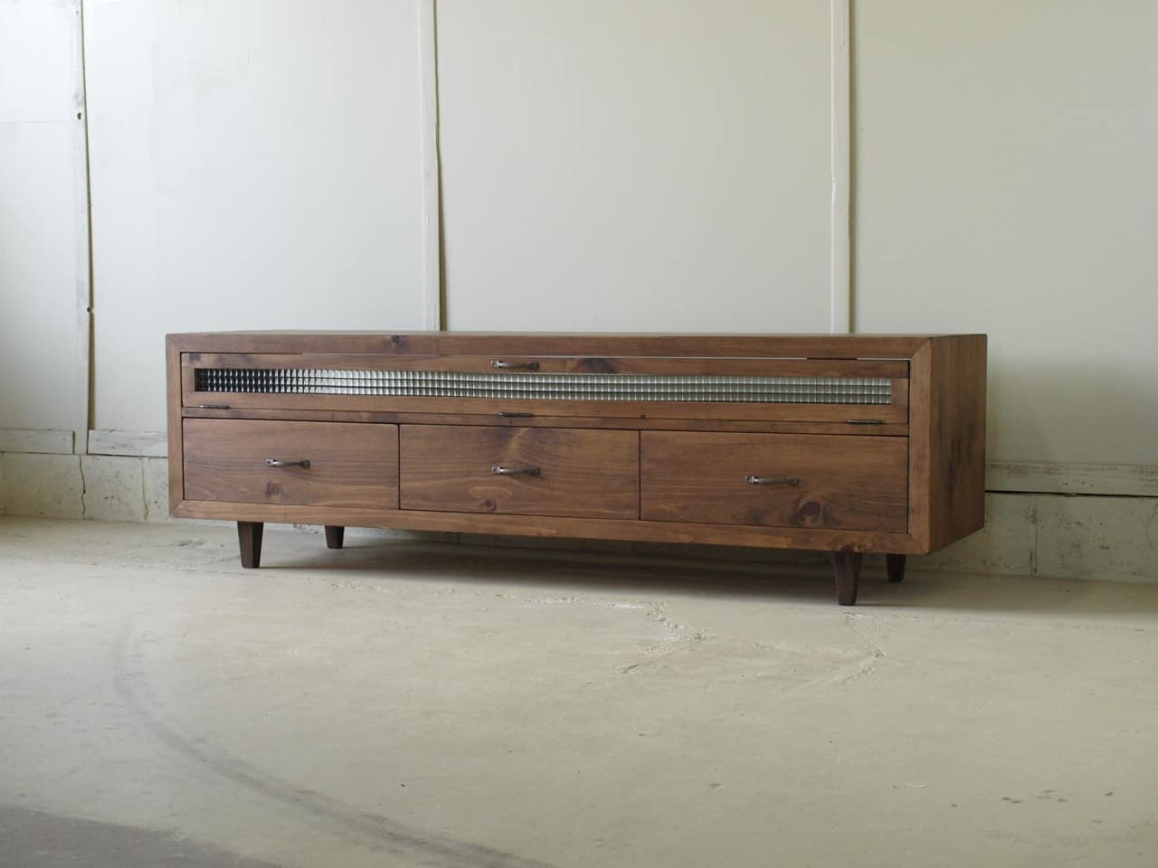 無垢テレビボード013W150L