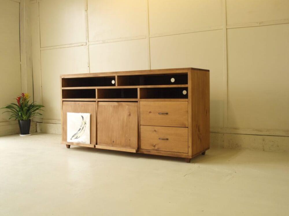 無垢家具テレビボード