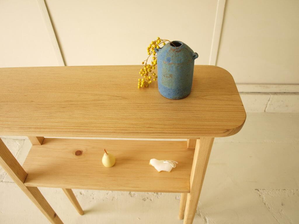 無垢家具 コンソールテーブル