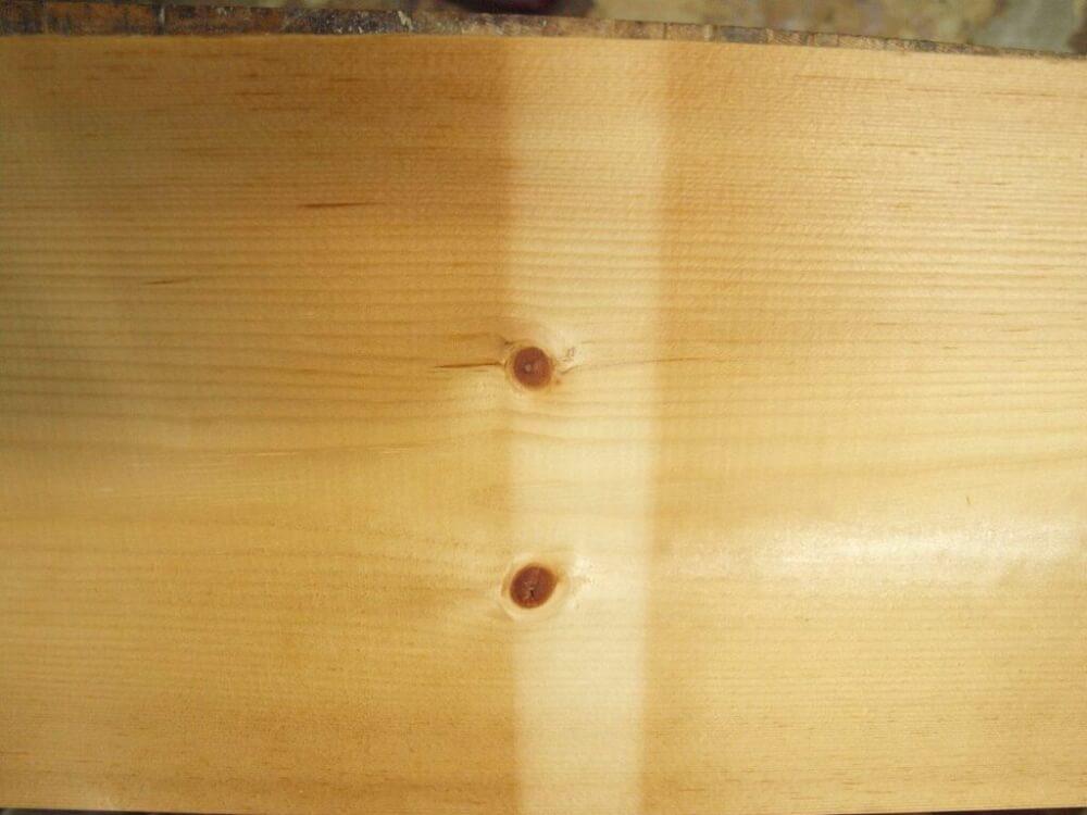 木材日焼け