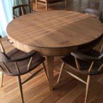 設置写真 丸テーブル