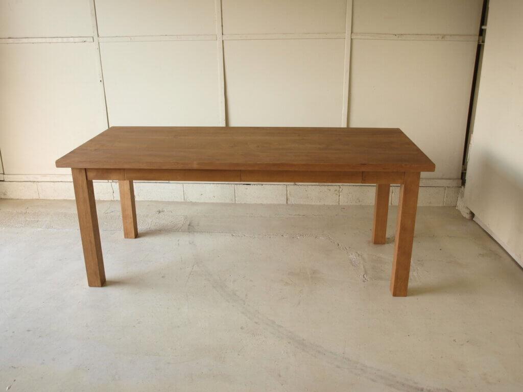 ダイニングテーブル026モミの木