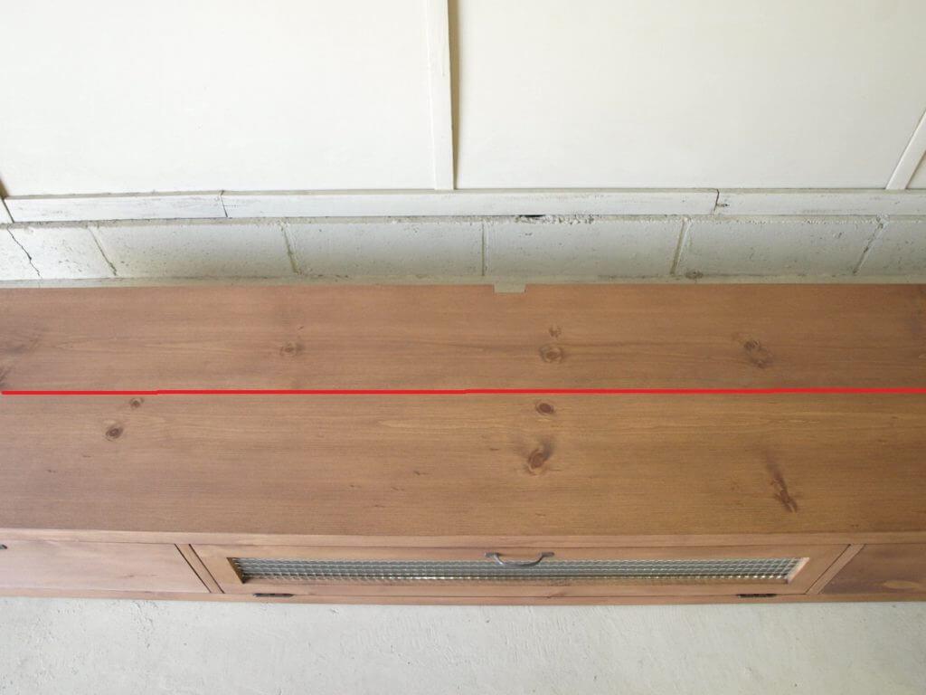 テレビボード天板