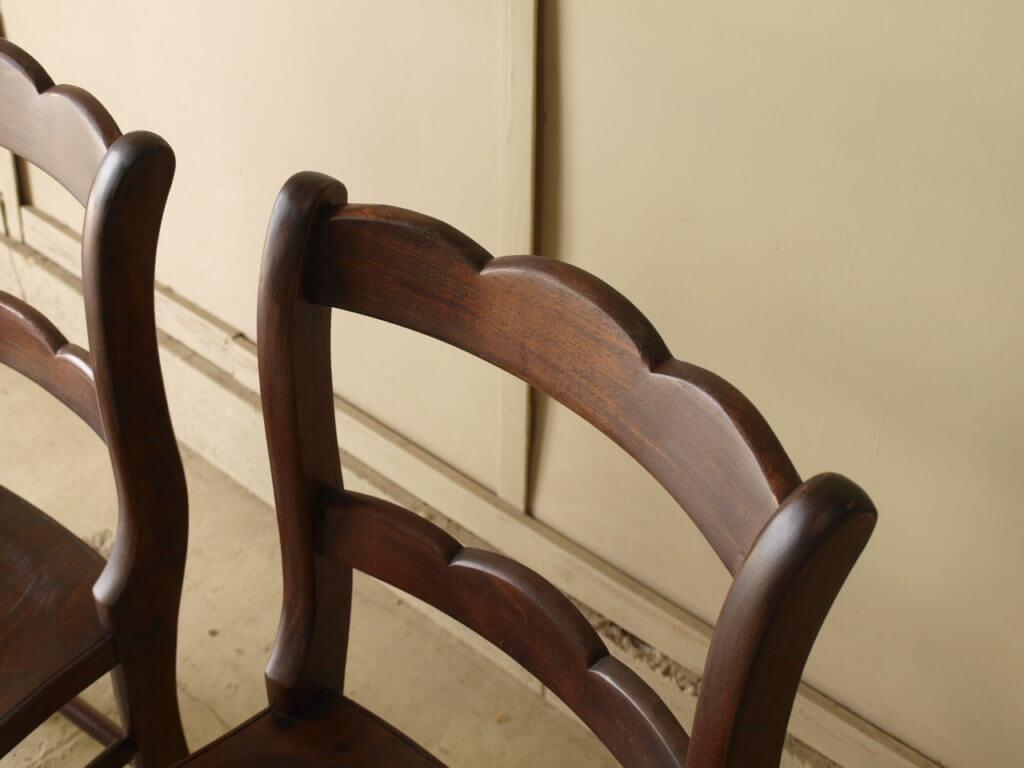 無垢家具リペア椅子