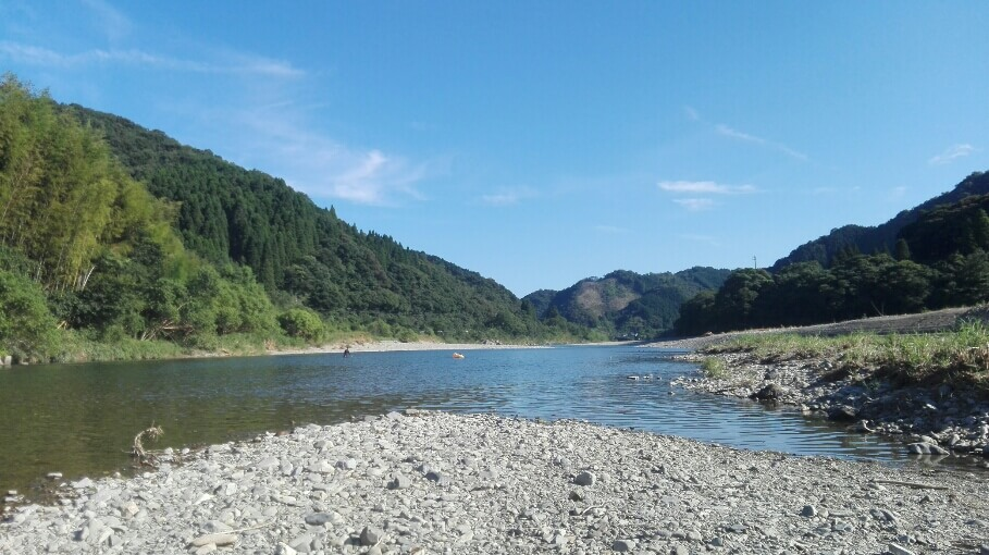 延岡北川川遊び