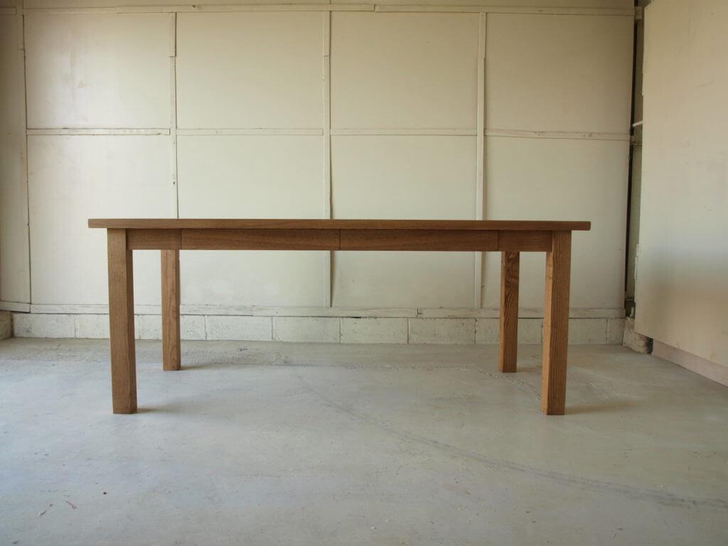 ホワイトアッシュ ダイニングテーブル026