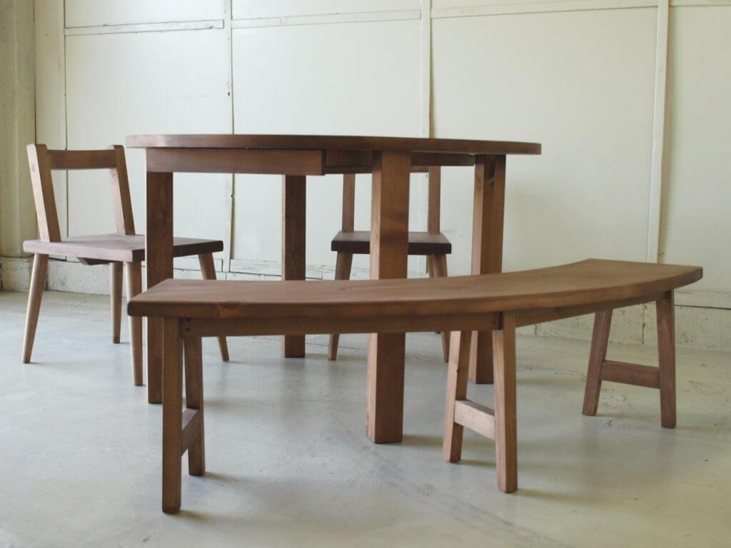 円形テーブルセット