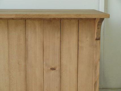 サイドボードモミの木ウォルナット色